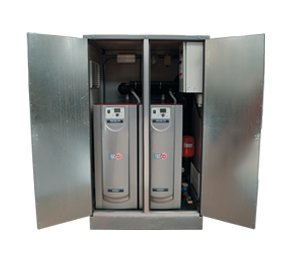 Centrala termica Adisa pe gaz in condensatie.